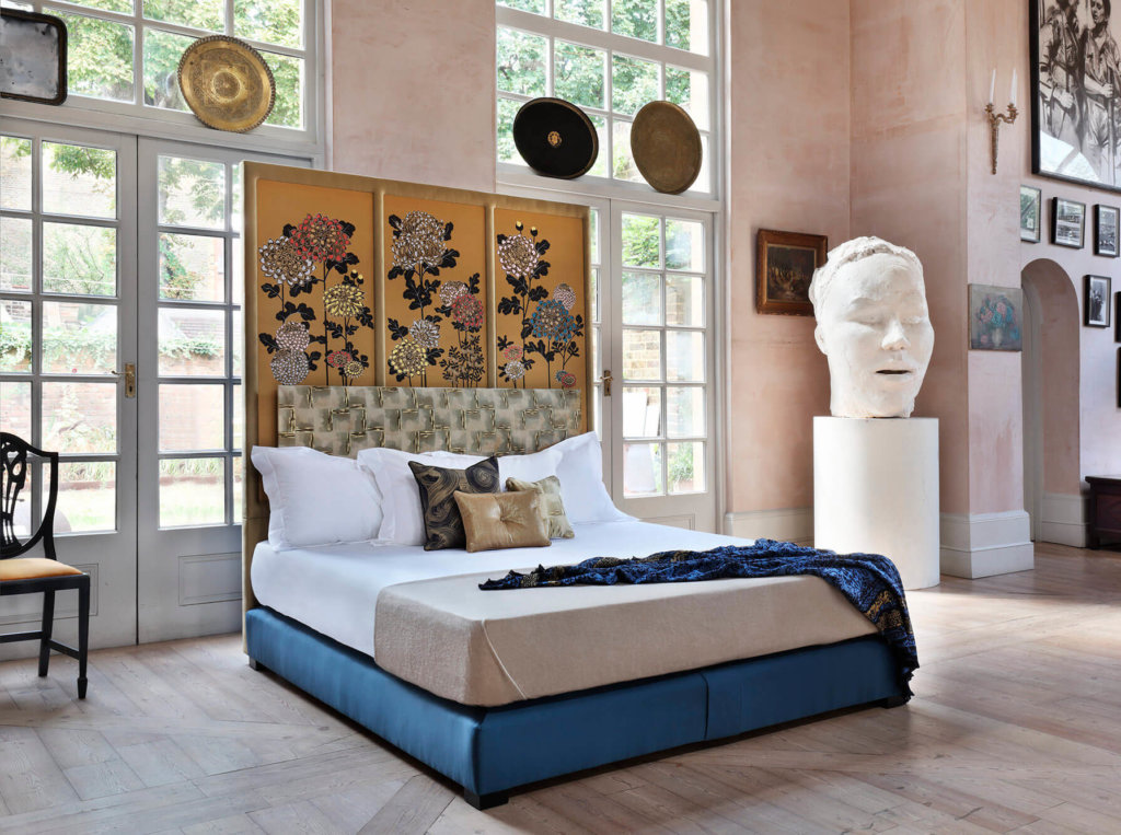 Fromental Kiku bed - Savoir collaboration