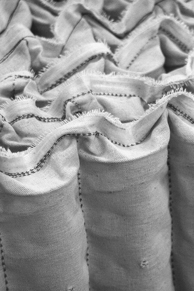 Reihe von Taschenfedern